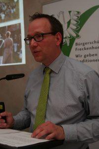 Präsident Matthias Kalthöner