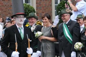 Rainer Kieskemper - Doris Braun - Rüdiger Braun bei Parade